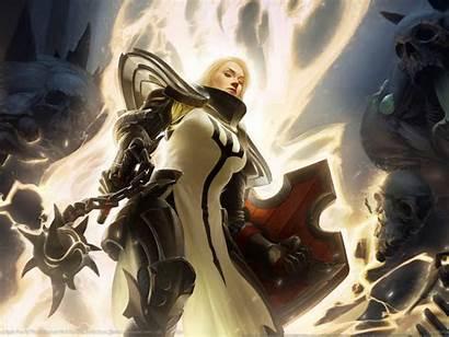 Crusader Diablo D3 Iii Female Wallhaven Crusaders