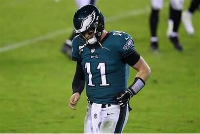 Eagles Wentz Philadelphia Carson Nfl Hurts Jalen