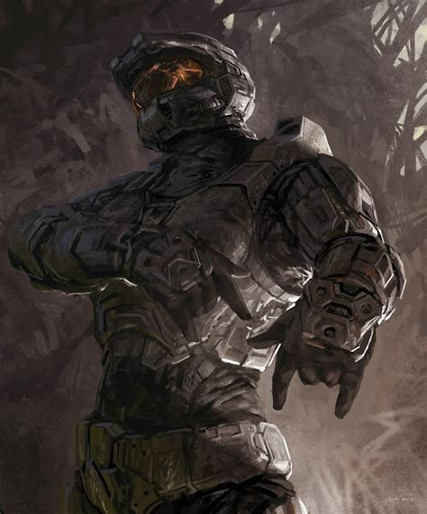 Gears Of Halo Master Chief Forever Halo Fan Art
