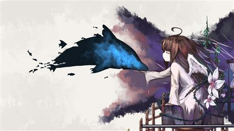 Artistic Anime Wallpaper - 1920x1080 deemo wings artistic anime