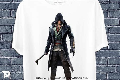 تیشرت طرح Assassins Creed مجله اینترنتی گیمینگ