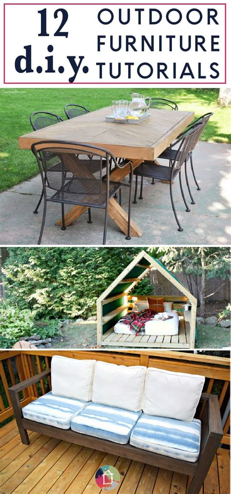 creative diy outdoor furniture ideas  wont break