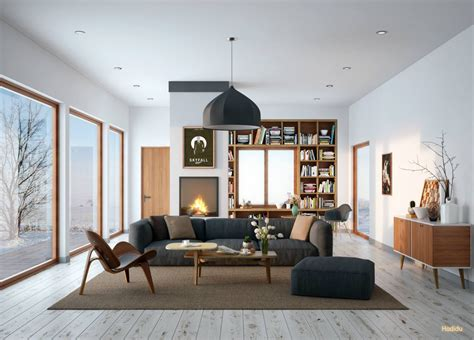 30 Mesmerizing Mid-century Modern Living Rooms And Their