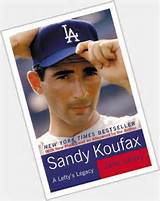 Is sandy koufax gay