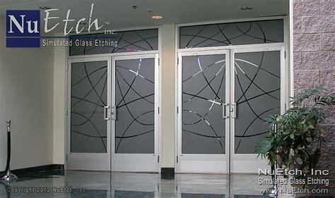 etched glass   great impression  adds