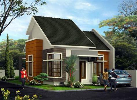 model rumah minimalis atap miring tipe rumah minimalis