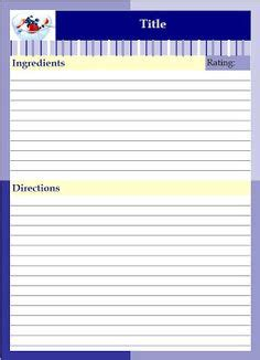 Recipe Binder Lazyday Expressions See How Professional Chefs Organize Their Recipes Free