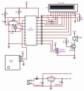 Gps Tracker Circuit Diagram