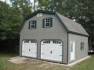 amish 20x20 double wide garage gambrel roof structure ebay With 20x20 garage kit