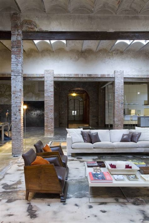 home interior warehouse loft barcelona warehouse conversion 5 living room panda