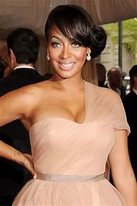 43 Black Wedding Hairstyles For Black Women Side Curl Bun Hairstyles & Haircuts for Men & Women