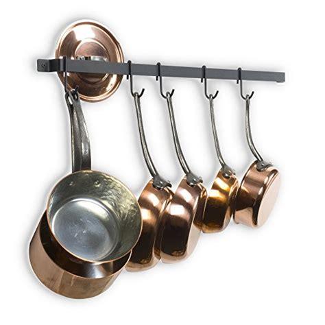 Kitchen Pot Hanging Rail by Wallniture Kitchen Rail Organizer Iron Hanging Utensils
