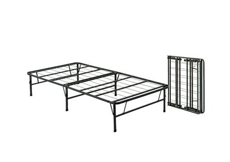 pragma bed simple base bi fold bed frame twin twin ebay