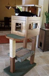 diy cat tower white cat tree condo diy projects