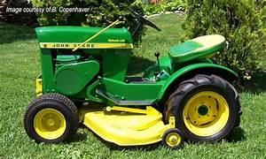 1965 John Deere 110 Garden Tractor Parts