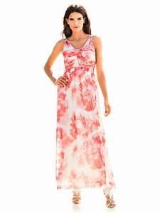 robe longue fluide imprimee details pailletes chics helline With robe fluide imprimée