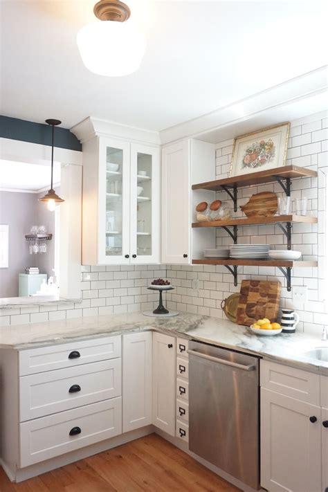shaker kitchen tiles vintage kitchen remodel white shaker cabinets marble 2175
