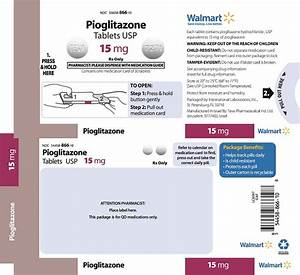 Pioglitazone Information, Side Effects, Warnings and Recalls Pioglitazone