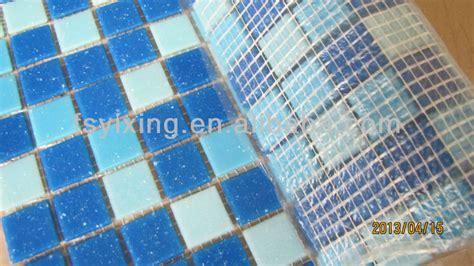 hm07 gold line glass mosaic swim pool tile wholesale