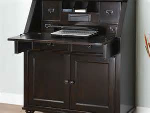 tall secretary desk with hutch