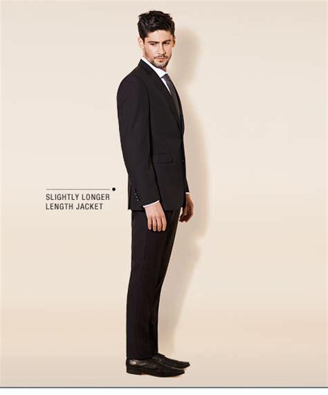 suit guide tailored fit suits burton menswear