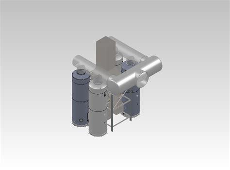 Coal Dryer Scrubber, Venturi Scrubber-condenser System