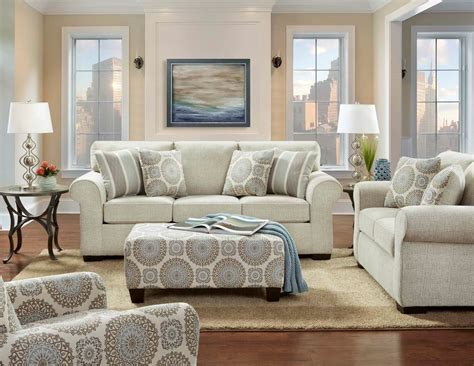 Sofa And Chair Set by Charisma Linen Sofa And Loveseat Fabric Living Room Sets