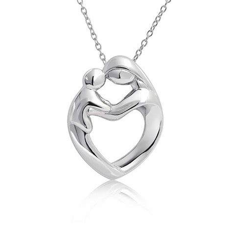 Sterling Silver Mother And Child Family Heart Pendant. Fashion Jewelry Designers. Custom Name Pendant. Sparkling Wedding Rings. Opal Diamond. Emerald Cut Earrings. Diamond Ring Band Designs. Wired Necklace. Military Royale Watches