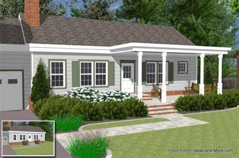 ranch home   pergola style front porch porch roof design front porch design ranch house