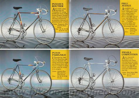 Peugeot Catalog by Peugeot Pgn10 Project Cyclechat Cycling Forum