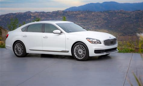 2019 Kia K900 Wants To Set A New Standard For Luxury The