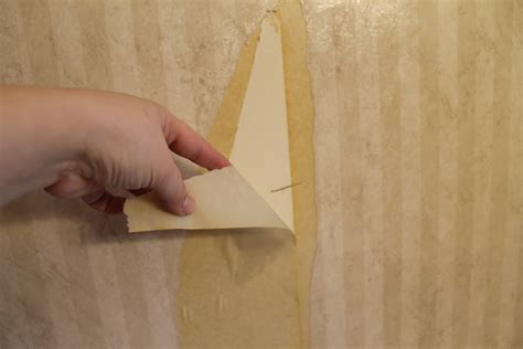 How To Remove Old Wallpaper Easily {bathroom