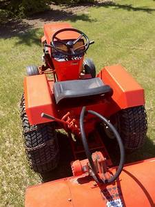 Case 448 Garden Tractor  U0026 Attachments Outside North