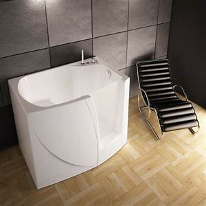 Baignoire A Porte Lapeyre : petite baignoire d 39 angle et solutions pour petits espaces ~ Premium-room.com Idées de Décoration