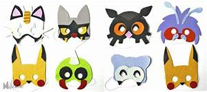 Deco Anniversaire Pokemon : festa party time pokemon masks pokemon birthday et ~ Nature-et-papiers.com Idées de Décoration