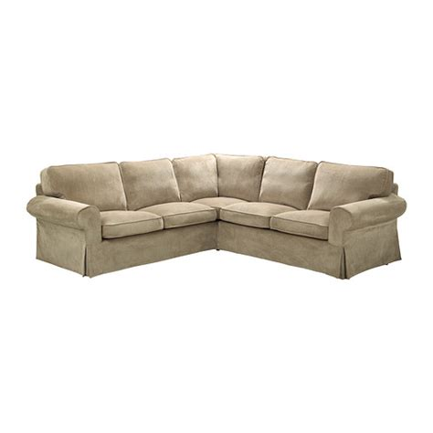 slipcovers for sectional sofas ikea ektorp corner sofa 2 2 slipcover vellinge beige ikea