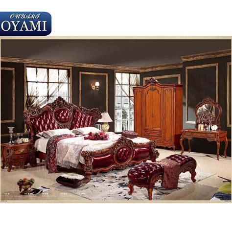 set de chambre bois massif arabe style bois sculpture italien chambre ensembles