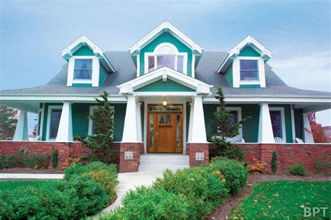 choose bright exterior paint family home plans blog