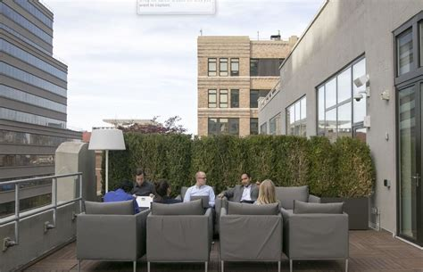 Outdoor Meeting Space  Medidata Solutions Office Photo