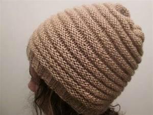 Modele De Tricotin Facile : tuto tricot apprendre a tricoter un bonnet au point de ~ Melissatoandfro.com Idées de Décoration