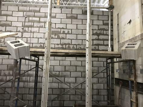 heavy duty block wall bond masonry