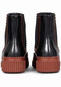 Tod 39 S Women 39 S Chelsea Boots In Brown Patent Leather