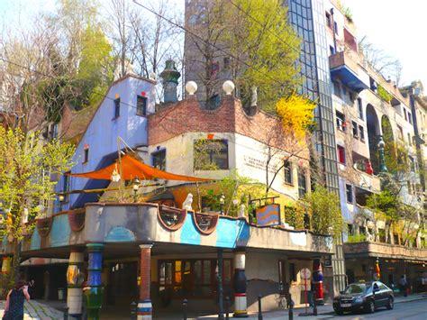 Hundertwasserhaus In Vienna, Austria  A New Life Wandering
