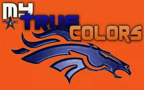 what are the denver broncos colors denver broncos my true colors pictures photos and images