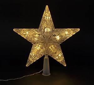 Christbaumspitze Stern Beleuchtet : weihnachtsbaum spitze christbaum spitze weihnachtsdeko baumspitze stern 10 led ebay ~ Whattoseeinmadrid.com Haus und Dekorationen