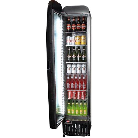 size of refrigerator tropical glazed door upright commercial bar