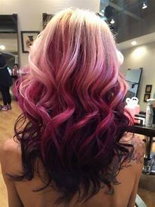 Blonde, Purple and Pastel Ombre hair! | Beauty (Hair ...