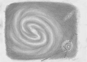 Milky Way Galaxy Drawing - Pics about space