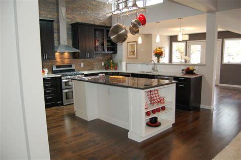 Ledger Stone Backsplash : Slate Stacked Stone/ledger Panel Kitchen Backsplash