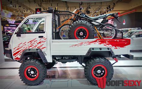 Modifikasi Suzuki Carry 1 5 Real by Gagahnya Suzuki Carry Up Dimodif Jadi Mobil Road